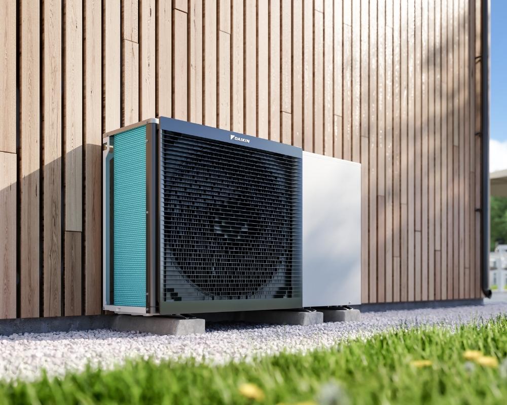 Daikin outdoor air source heat pump