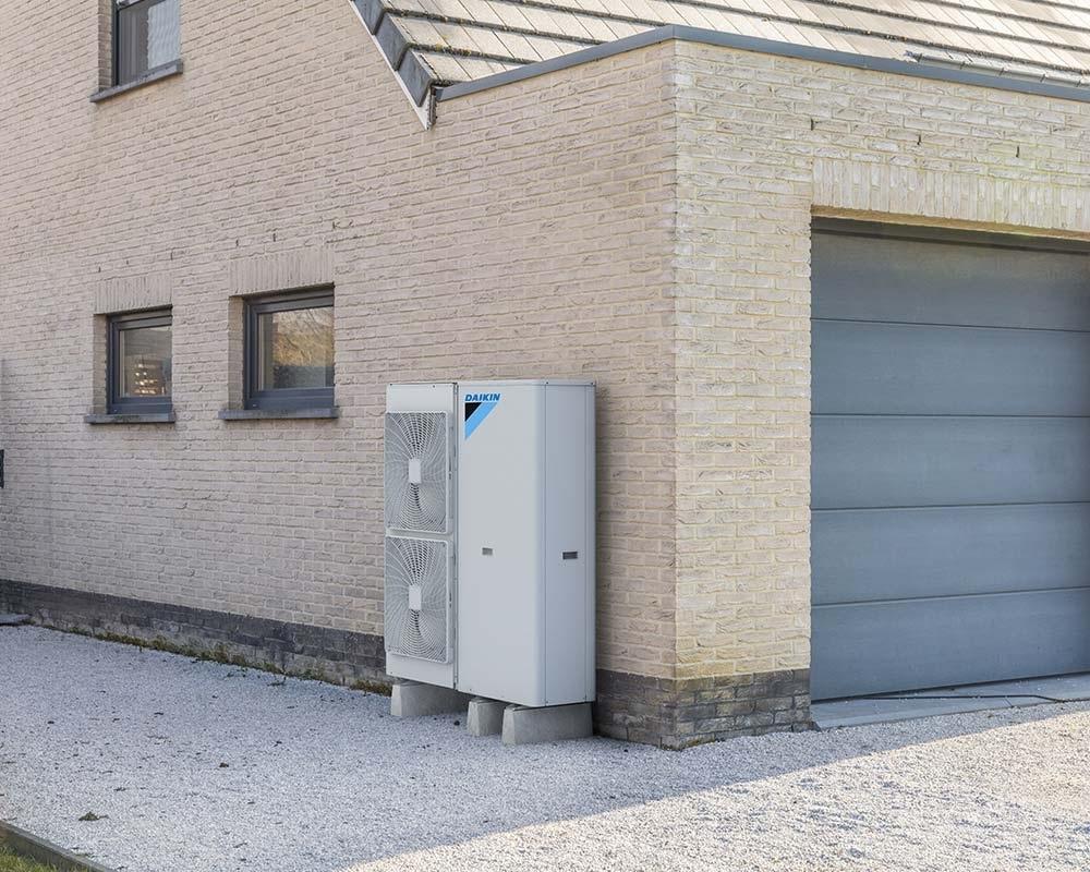 Daikin outdoor ground source heat pump